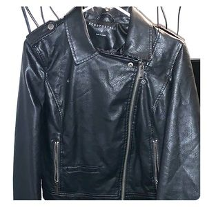Aeropostale medium, fake leather jacket